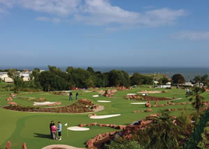 devon cliffs holiday park golf